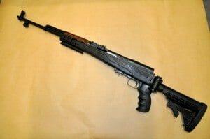 SKS rifle copy