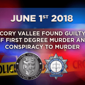 Cory Vallee found guilty of first degree murder and conspiracy to murder